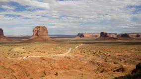 Montagne美国纪念碑谷 库存图片