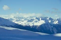 montagne à chaînes Image stock