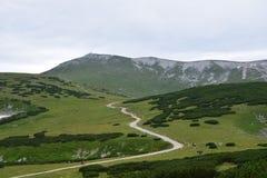 Montagne étonnante Images libres de droits