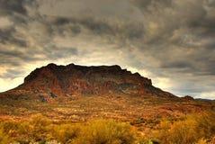 Montagne 103 de désert Photos libres de droits