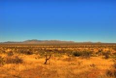 Montagne 107 de désert Photo stock