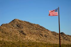 Montagne 113 de désert images stock