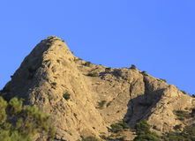 Montagne Images libres de droits