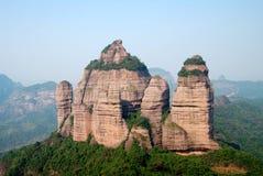 Montagne 5 de Danxia Images libres de droits