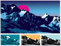 Montagne Immagine Stock Libera da Diritti