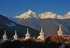 Montagne 6 della neve di Meili (Meri) Immagine Stock Libera da Diritti