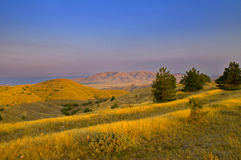 Montagne. Fotografia Stock