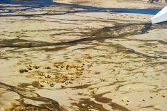 Montagne aérienne du Thibet Photographie stock libre de droits
