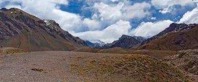 Montagne Aconcagua fotografia stock