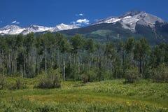 Montagne ad ovest e di est di Beckwith Fotografia Stock Libera da Diritti