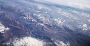 Montagne aeree Immagine Stock