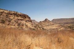 Montagne africane Fotografia Stock Libera da Diritti