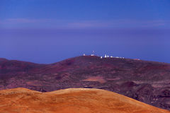 Montagne alle isole Canarie, Tenerife, Spagna Immagine Stock