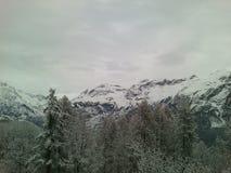 Montagne, Alpes, Puy Saint Vincent, Francia Immagini Stock