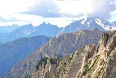 Montagne in alpi italiane Fotografia Stock Libera da Diritti