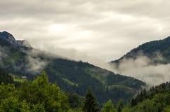 Montagne alpine Immagini Stock Libere da Diritti