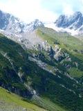 Montagne alpine della Svizzera, Unterstock, Urbachtal Immagine Stock