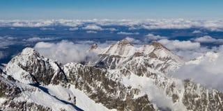 Montagne alte di Tatras Fotografie Stock
