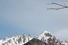 Montagne alte sulle alpi italiane Immagine Stock Libera da Diritti