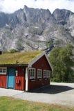 Montagne Andelsnes Fotografia Stock Libera da Diritti