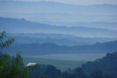 Montagne appalachiane Fotografia Stock