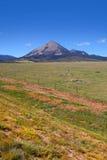 Montagne argentée dans le Colorado Photographie stock libre de droits