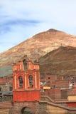 Montagne argentée dans Potosi Photo libre de droits