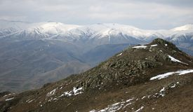 Montagne in Armenia Fotografia Stock