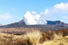 Montagne Aso photo libre de droits