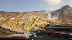 Montagne au Japon Images libres de droits