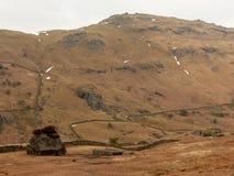 Montagne au secteur de lac, Cumbria, Angleterre R-U Photographie stock