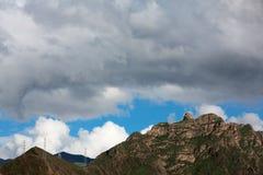 Montagne au Thibet Photo libre de droits
