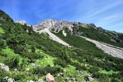 Montagne in Austria Immagini Stock