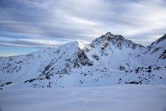 Montagne in Austria alpi Fotografia Stock