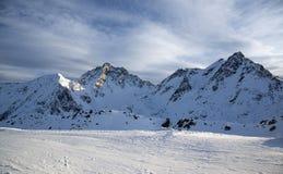 Montagne in Austria alpi Immagini Stock Libere da Diritti