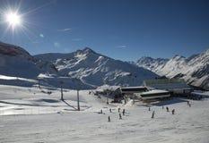 Montagne in Austria alpi Fotografie Stock Libere da Diritti