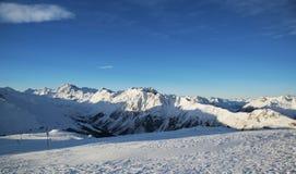 Montagne in Austria alpi Immagini Stock