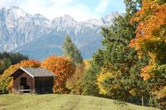 Montagne austriache Fotografia Stock