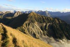 Montagne austriache Immagini Stock