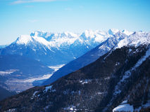 Montagne austriache Europa delle alpi Fotografia Stock Libera da Diritti