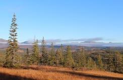 Montagne in autunno immagine stock
