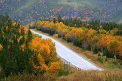 Montagne in autunno fotografia stock libera da diritti