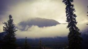 Montagne banff Photo libre de droits