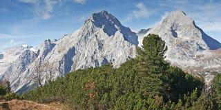 Montagne bavaresi Fotografia Stock Libera da Diritti