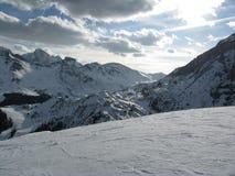 Montagne bianche Fotografie Stock
