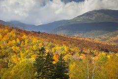 Montagne bianche del New Hampshire fotografie stock libere da diritti