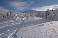 Montagne blanche Photos stock