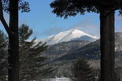Montagne blanche de visage l'état près de Lake Placid, New-York, Etats-Unis photos stock