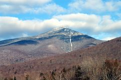 Montagne blanche New Hampshire Photos stock