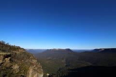 Montagne bleue Photos stock